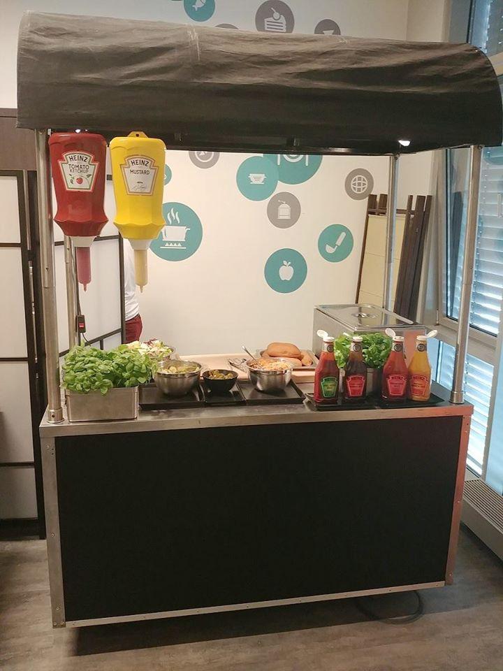 wózki do hot dogów wypożyczalnia