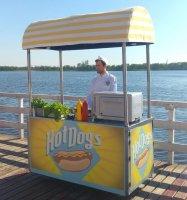 wózek do hot dogów wynajem