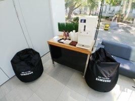 Lody włoskie i lemoniada dla Samsung