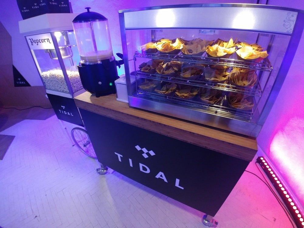 Popcorn i nachos TIDAL