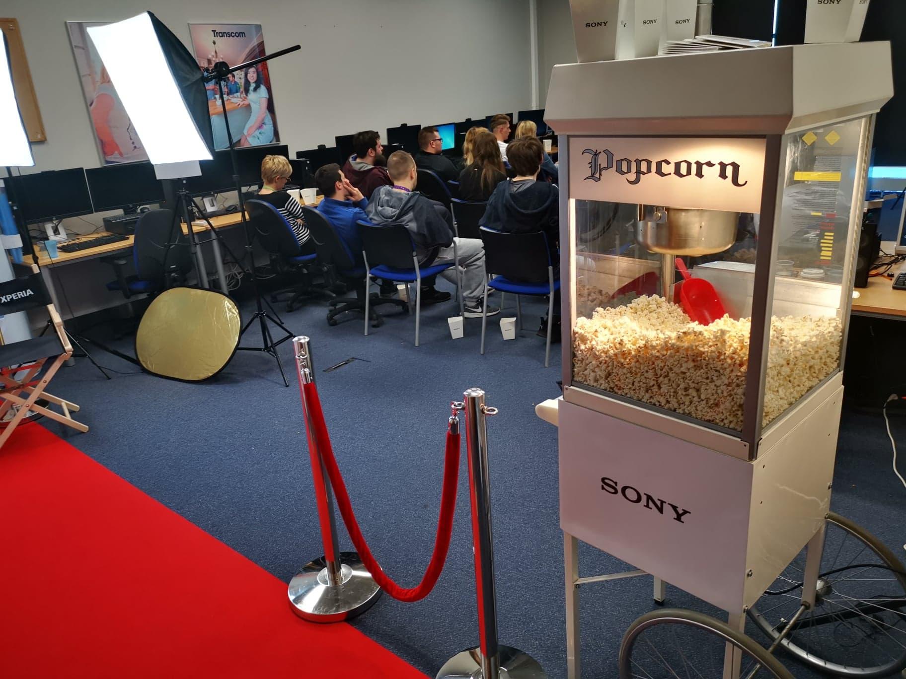 Popcorn SONY w Play, Plus, Orange i T-mobile