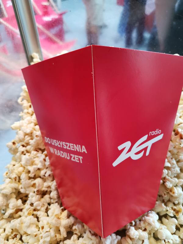 Popcorn i lemoniada w Radio ZET