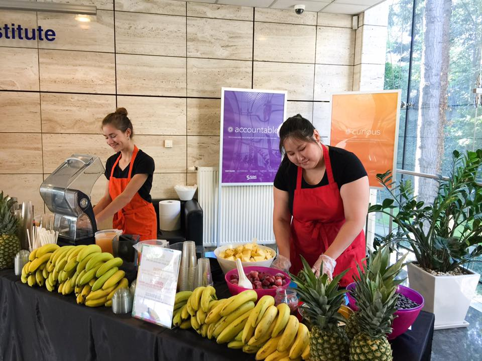 catering sokowy, smoothies